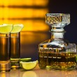 Gold tequila — Stock Photo #13844935