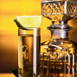 Gold tequila - Stock Photo