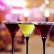 Glasses with cocktail — Stock Photo #15456643