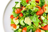 Salad from fresh vegetables — Foto de Stock