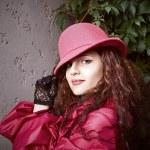 Girl in hat — Stock Photo #19005983