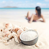 Sea salt — Stock Photo