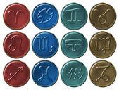 Zodiac Signs — Stock Photo