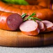 Smoked sausage — Stock Photo