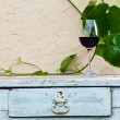 Glass with red wine — Stockfoto #27420401