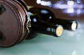 Bouteille de vin — Photo