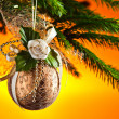 Christmas ornaments — Stock Photo