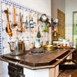 Stock Photo: Kitchen of 19th century
