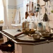 Kitchen of 19th century — Stock Photo