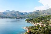 Jaderské moře v chorvatsku — Stock fotografie