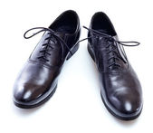 Nowe czarne buty — Zdjęcie stockowe