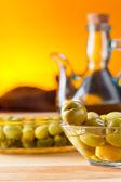Olive verdi — Foto Stock
