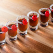 Cherry liquor — Stock Photo #38500287