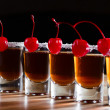 Cherry liquor — Stock Photo #38500309