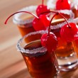 Cherry liquor — Stock Photo #38500359