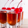 Cherry liquor — Stock Photo #38500365