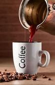 ホット モーニング コーヒー — ストック写真