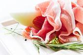 šunka s melounem — Stock fotografie