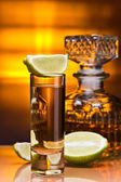 Gold tequila — Foto Stock