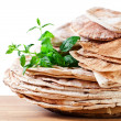 Unleavened wheat cake — Stock Photo #40894171