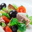 Salad from tuna — Stock Photo
