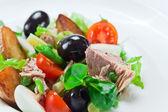 Salad from  tuna — Stock Photo