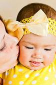 Mum with the baby — Stock Photo