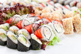 Appetizing Japanese sushi  — Stock Photo