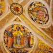 Paintings in Vatican muesums — Stock Photo