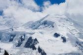 Peak of Mont-Blanc, close — Stock Photo