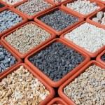 Variation of rocks for garden — Stock Photo #11108644