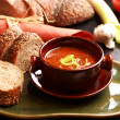 Stock Photo: Gourmet goulash soup
