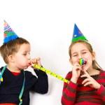 Carnival kids have a fun — Stock Photo
