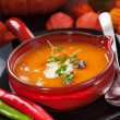 Pumpkin soup — Stock Photo #13291649