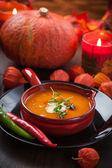 Pumpkin soup — Stok fotoğraf