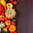 Thanksgiving border — Foto Stock