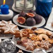 Assortment of Christmas cookies — Stockfoto