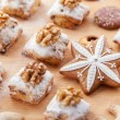 Stock Photo: Delicious Christmas cookies