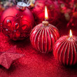 Christmas candles — Foto Stock #14603267