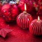 Noel mumlar — Stok fotoğraf