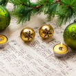Christmas carol — Stock Photo