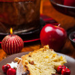 Stock Photo: Traditional panettone cake for Christmas
