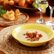 Cream of mushroom soup - Stock fotografie