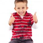 Playful little boy — Stock Photo