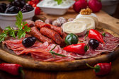 Antipasti and Fingerfood — Stock Photo