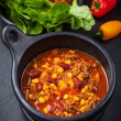 Hot chilli con carne — Stock Photo #22062669