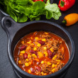 Stock Photo: Hot chilli con carne