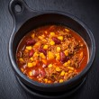 Hot chilli con carne - Stock Photo