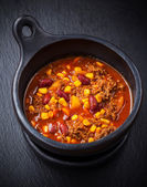 Hot chilli con carne — Stock Photo