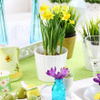 Easter table — Stock Photo #22171627